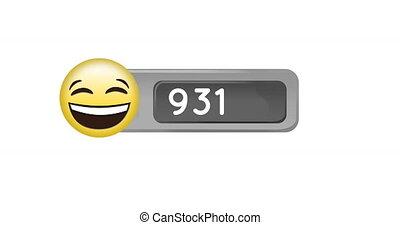 emoji, figure, 4k, nombres, larmes, joie