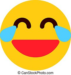 emoji with tear of joy