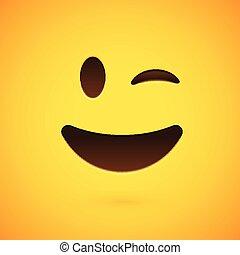 emoticon , εικόνα , ρεαλιστικός , μικροβιοφορέας , κίτρινο , αντιμετωπίζω , φόντο