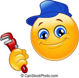 emoticon , υδραυλικός
