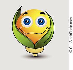 emoticon , χορτοφάγοs , smiley , emoji