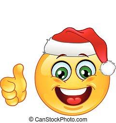 emoticon, クリスマス