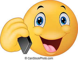 emoticon, 話し, smiley, 漫画