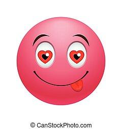 emoticon, amor