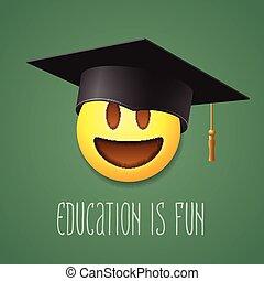 emoticon, amusement, education, rire