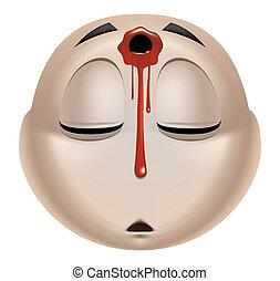 Emoticon dead