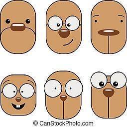 emoticon, emoji, expression.