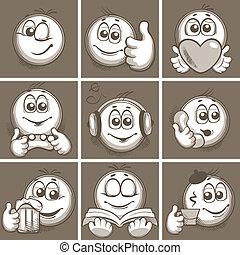 emoticon, esboçar