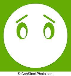 Emoticon green