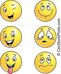 emoticon, komplet