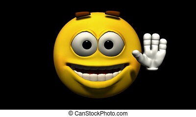 emoticon, looping, animatie, seamless