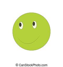 emoticon, mód, smiley, ikon, karikatúra, boldog