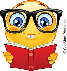 emoticon, nerd