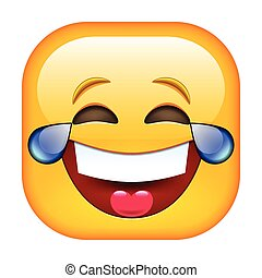 emoticon, nevető