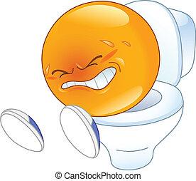 emoticon, pooping