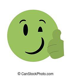 emoticon, pratstund, emoji