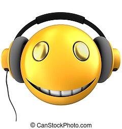 emoticon, smile, gul, 3