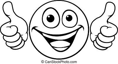 Emoticon Thumbs Up Icon