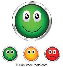 emoticon, validação