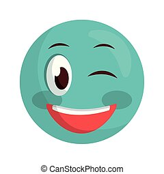 emoticon, visage smiley