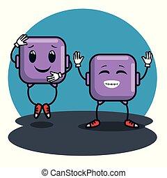 emoticons, ícones, caras, smiley, emoji