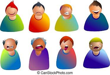 emoticons, αρσενικό