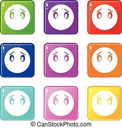 Emoticons 9 set