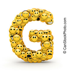 emoticons, brief g
