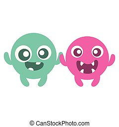 emoticons faces with crazy teeth couple characters