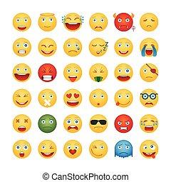 emoticons, satz