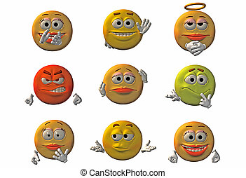 Emoticons - smileys