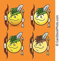 emoticons,  vector,  robinhood