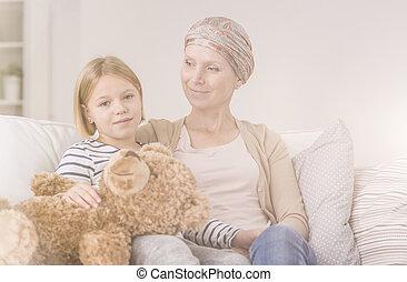 Emotional bond with cancer mother