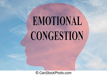 EMOTIONAL CONGESTION concept