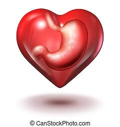 Emotional Eating - Emotional eating addiction health concept...