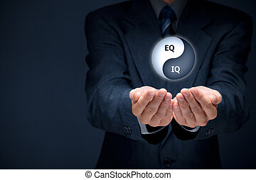 EQ and IQ - Emotional intelligence and logical intelligence ...