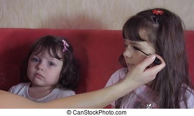 Emotions of children.