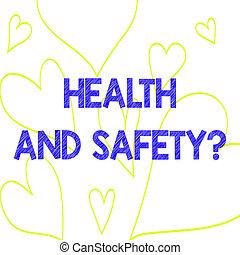 empêcher, coeur, photo, signe, dehors, modèle, sécurité, ...