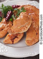 Empanadas, Latin American mini pie - Baked empanadas,...
