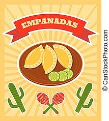 empanadas poster