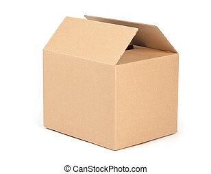 empaquetado, caja, cartón