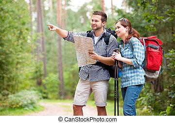 emparéjese excursionismo
