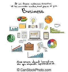 empate, conjunto, finanzas, empresa / negocio, colección,...