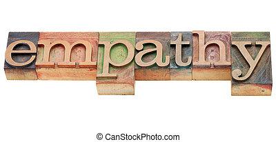 empathy, 単語