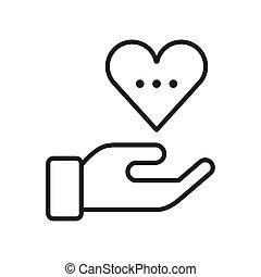 empathy feeling illustration design