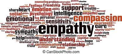 Empathy-horizon - Empathy word cloud concept. Vector ...