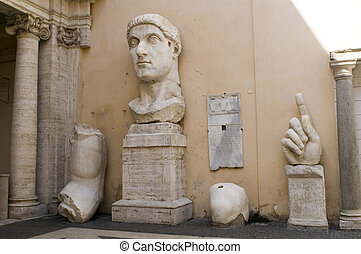 emperor Constantine, Capitol, Rome