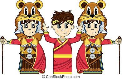 Emperor & Roman Centurion Guards