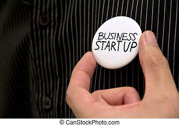 empezar para arriba, empresa / negocio
