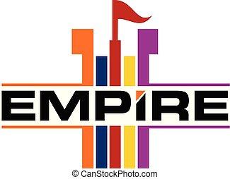 Empire Logo Design Template Vector